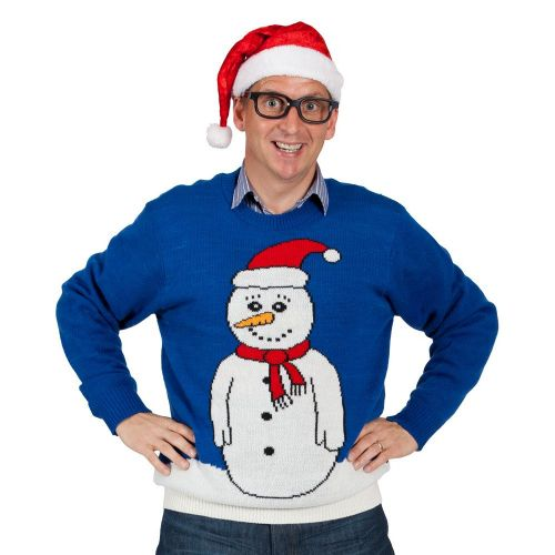 Adult Crimbo Jumper Christmas Costume for Nativity Panto Fancy Dress Mens Ladies